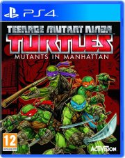 teenage mutant ninja turtles: mutants in manhattan - PS4