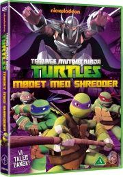 tmnt teenage mutant ninja turtles vol. 2 - mødet med shredder - DVD