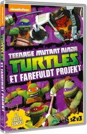 teenage mutant ninja turtles vol. 7 - et farefuldt projekt - DVD