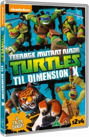teenage mutant ninja turtles vol. 8 - til dimension x - DVD