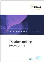 tekstbehandling word 2010 - bog