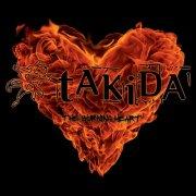 takida - the burning heart - cd