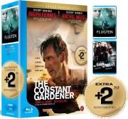 the constant gardener / flugten / we own the night - Blu-Ray