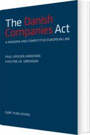 the danish companies act - bog