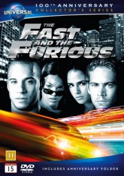 fast and furious 1 - 100th anniversary edition - DVD
