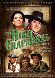 the high chaparral - boks 3 - DVD