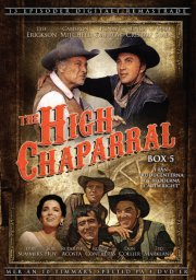 the high chaparral - boks 5 - DVD