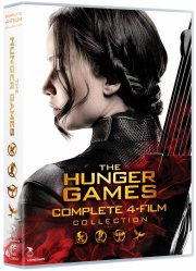 the hunger games 1-4 box set - DVD