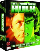 the incredible hulk - den komplette serie - DVD