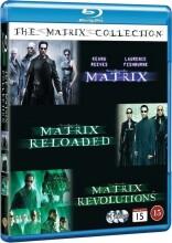 the matrix 1-3 - boks - Blu-Ray