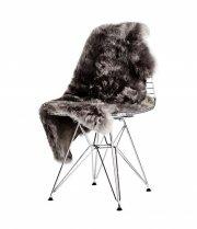 skind til stol - the organic sheep - 70 x 110 cm - sølv - Til Boligen