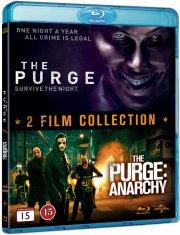 the purge 1+2 - Blu-Ray