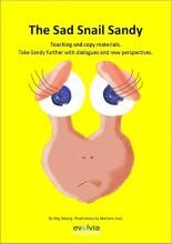the sad snail sandy arbejds- og kopihæfte - bog