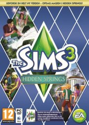 the sims 3 hidden springs (code-in-a-box) (dk) - PC