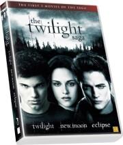 the twilight saga trilogy - 1: twilight // 2: new moon // 3: eclipse - DVD