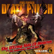 five finger death punch - the wrong side of heaven and the righteous side of hell - vol. 1 - cd