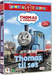 thomas og vennerne / thomas and friends - thomas til søs - DVD