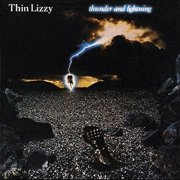 thin lizzy - thunder and lightning - Vinyl / LP