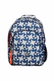 ticket to heaven skoletaske - blå med motiv - Skole
