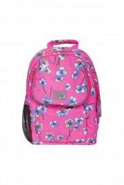 ticket to heaven skoletaske / børnehavetaske - pink med blomster - Skole