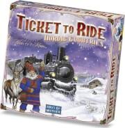 ticket to ride brætspil - de nordiske lande - Brætspil