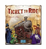 ticket to ride brætspil - nordamerika - Brætspil