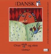 tid til dansk 3.kl. over stok og sten - bog