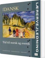 tid til dansk, norsk og svensk, lærervejledning med cd - bog