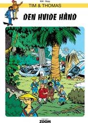 tim & thomas: den hvide hånd - bog