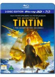 tintin - enhjørningens hemmelighed - 3d - Blu-Ray