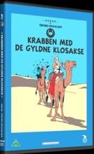 tintin - krabben med de gyldne klør / the crab with the golden claws - DVD