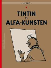 tintin og alfa-kunsten - bog