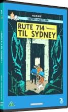 tintin - rute 714 til sydney - DVD