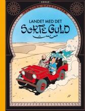 tintins oplevelser: landet med det sorte guld - bog