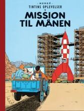 tintins oplevelser: mission til månen - bog