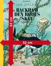tintins oplevelser: rackham den rødes skat - gigant - bog