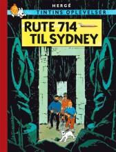 tintins oplevelser: rute 714 til sydney - bog