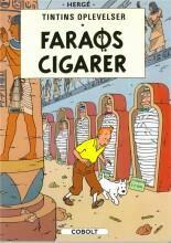 tintins oplevelser standardudgave: faraos cigarer -, ny oversættelse - bog