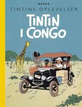 tintins oplevelser: tintin i congo - bog