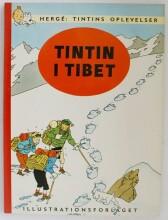 tintins oplevelser: tintin i tibet - bog