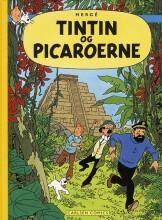 tintins oplevelser: tintin og picaroerne - bog