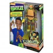 tmnt - mutations deluxe turtle to weapon - michelangelo (91473) - Figurer