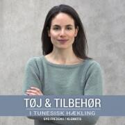 tøj & tilbehør i tunesisk hækling - bog