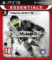 tom clancy's splinter cell: blacklist (essentials) - PS3