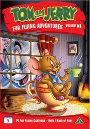 tom & jerry pelsklædte eventyr - vol. 3 - DVD