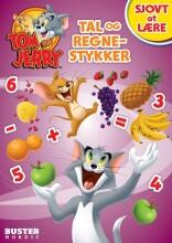 tom & jerry: sjovt at lære: tal og regnestykker - bog