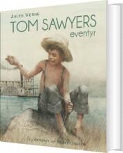 tom sawyers eventyr - bog