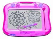 tomy - megasketcher magnettavle - pink - Kreativitet