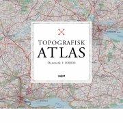 topografisk atlas danmark 1:100.000 - bog