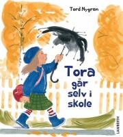 tora går selv i skole - bog